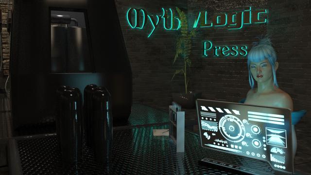 Myth Logic Press lab - Iray